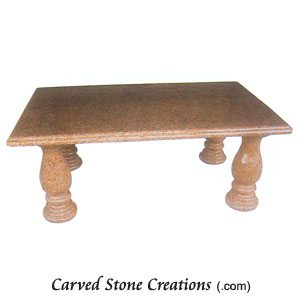 Large Dining Table With Pedestals, Maple Leaf