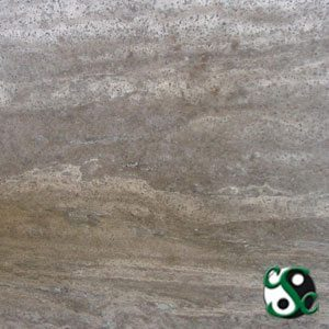 Silver Travertine Sample