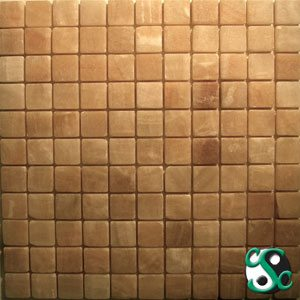 Butterscotch Onyx 1″ Polished Squares Mosaic