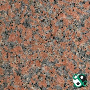 Maple Leaf Red Granite Sample