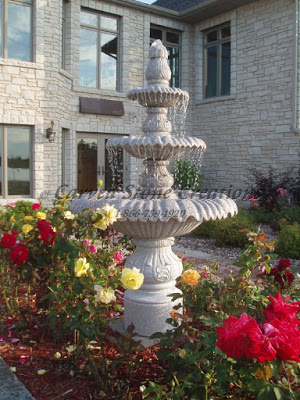 Classic Granite Fountain