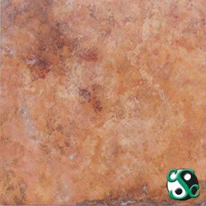 Peach Travertine Sample