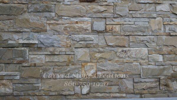 14×32(28) Serengeti Gold Quartzite Palatial Corner Interlocking Tile