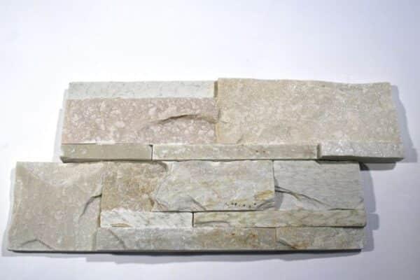 Tahitian Pearl Quartzite Interlocking Natural Cleft Flat