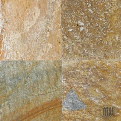 24×24 Serengeti Gold Quartzite Natural Cleft Tile