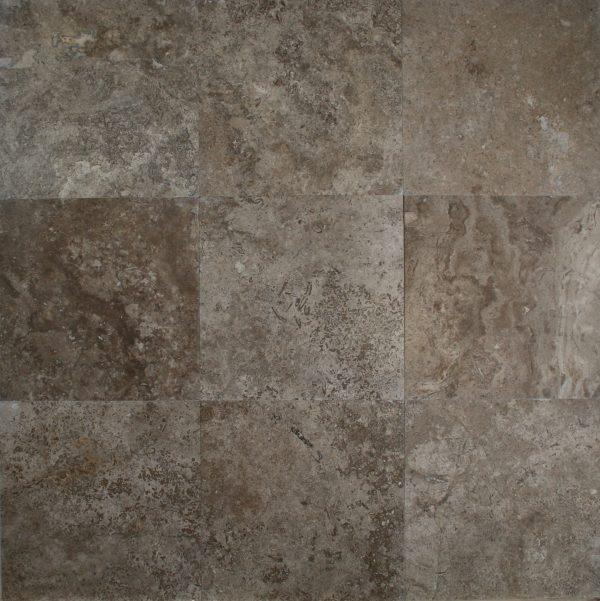 1212 tuscany walnut hf travertine tile carved stone creations tuscany walnut hf 12x12 ppazfo