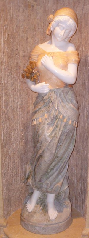 Four Seasons Marble Statue (Winter)