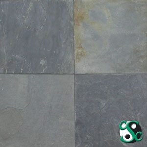 Fish Grey Natural Cleft Slate Samples