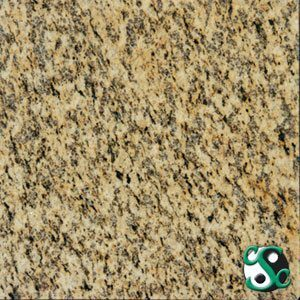 24×24 Tiger Skin Yellow Polished Granite Tile