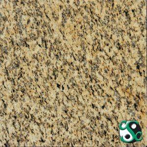 24×24 Tiger Skin Yellow Polished Granite Tile