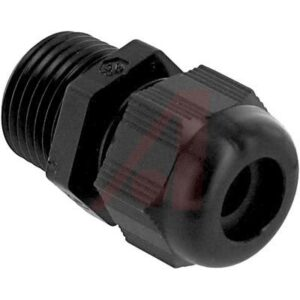 Compression Fitting UW Cord Grip; 3 to 9 mm; NPT; 1/2 in.; 14 mm; 21.2 mm; Polyamide 6; Neoprene