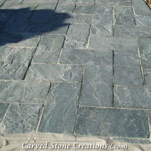 12×12 Slate Pavers, Irish Moss
