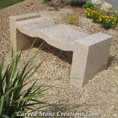 Curvy Garden Bench