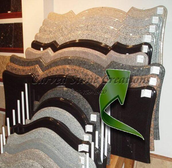 Europa XL Elephant Skin Vanity Top 23xW62x1.25