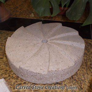 Millstone Bubbling Fountain Giallo Fantasia