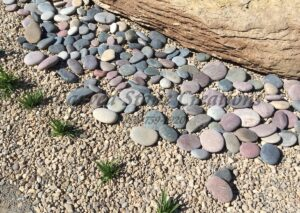 Large Mixed Color Tumbled Pebbles