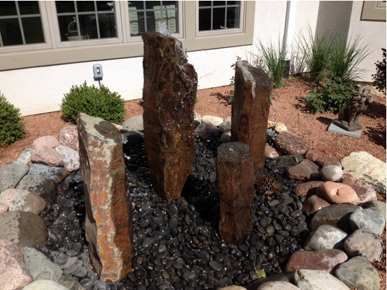 Basalt Column Fountain