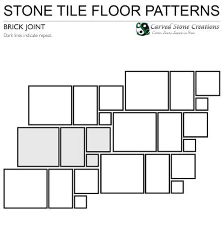 Brick Joint Floor Pattern