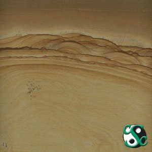 Burlwood Natural Mix Sandstone Polished Tile
