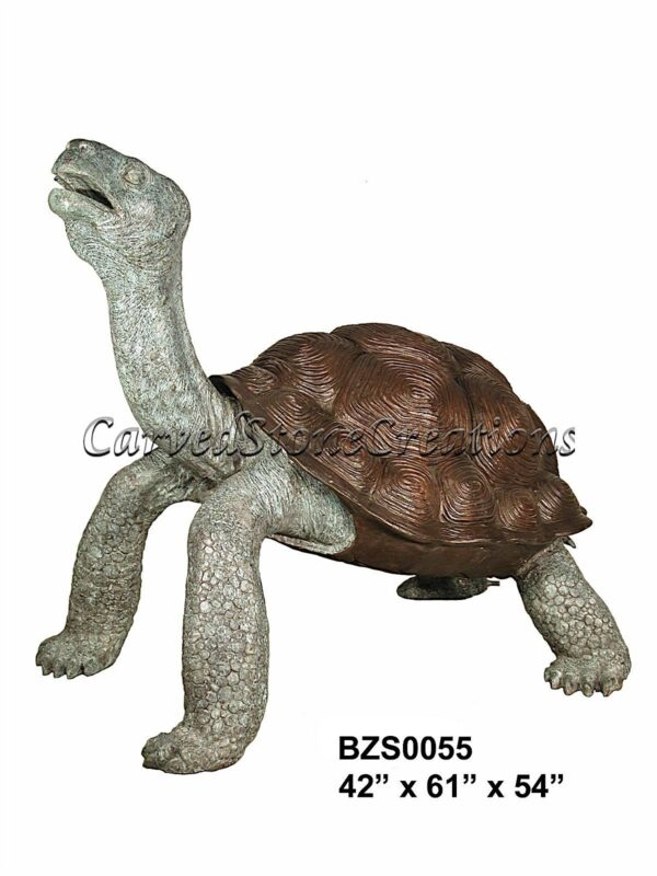 Galapagos Tortoise Statue