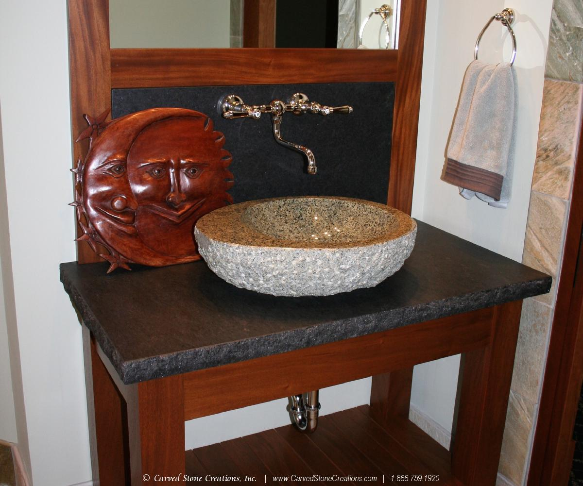 Granite Vessel Sink
