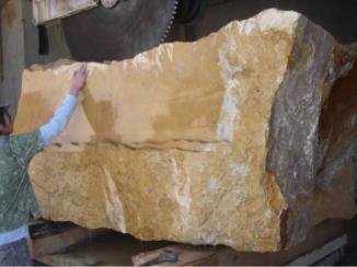 Carving a stone bathtub