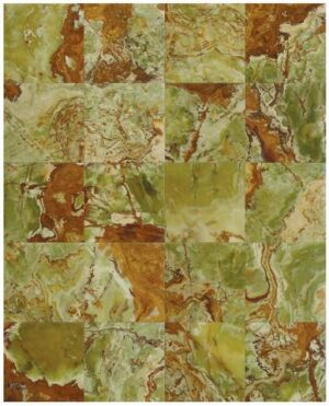 12×12 Green Onyx Polished Tile