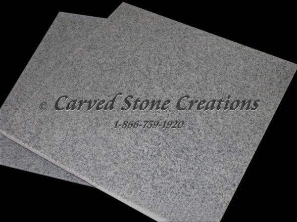 12×12 Fine Temple Grey Polished Granite Tile