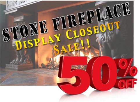 Fireplace sale
