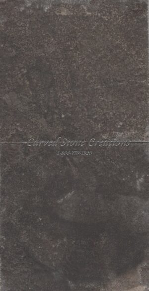 9-FT Honed Fortress Ebony Black Limestone Slab