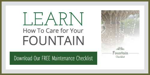 Fountain Maintenance Checklist