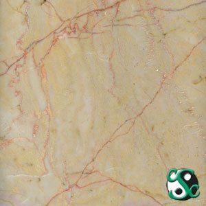 12×12 Giallo Marfilia Marble Polished Tile