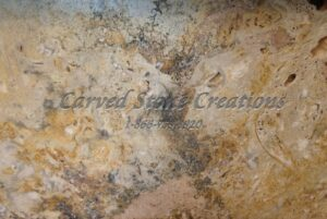 Golden Orient Travertine Sample