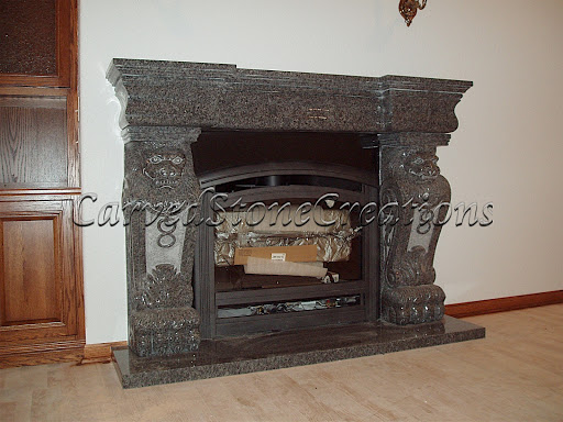 Gothic fireplace design