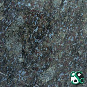 Hawaiian Blue Polished Granite Sample