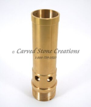 "1 1/2"" Brass Aerated Bubbler Nozzle"