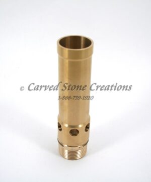 1″ Brass Aerated Bubbler Nozzle