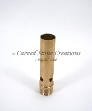 "3/4"" Brass Aerated Bubbler Nozzle"