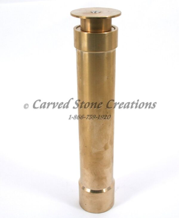 "1"" Brass Rising Dome Water Film Fountain Nozzle"