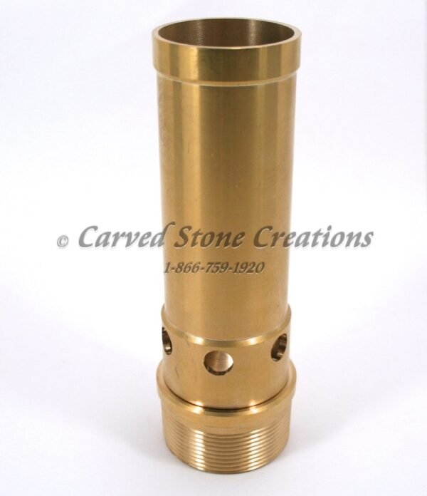 "2"" Brass Aerated Bubbler Nozzle"