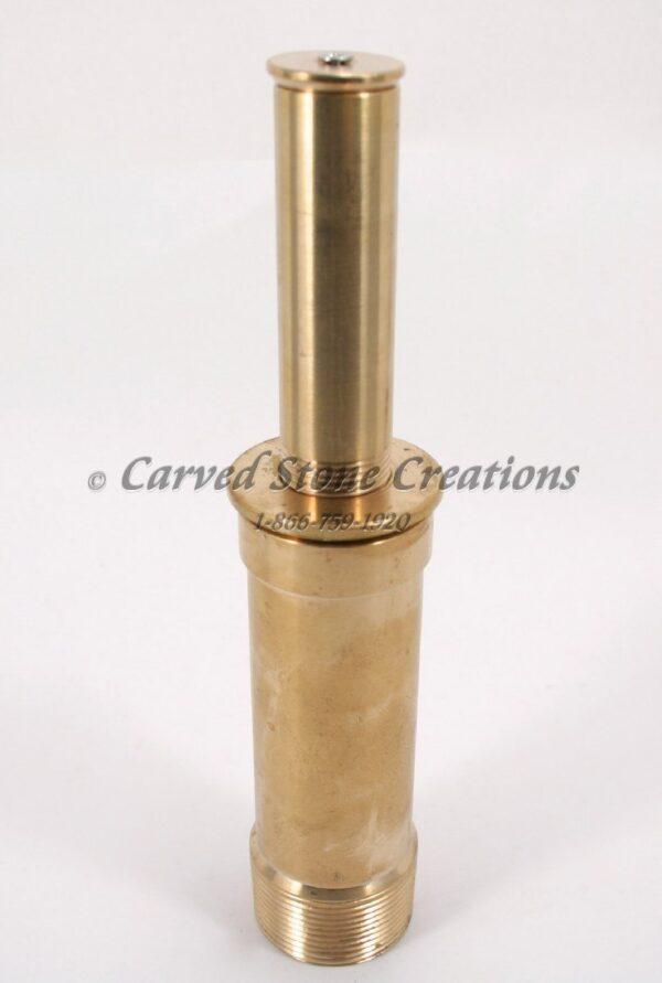 "1 1/2"" Brass Double-Trumpet Film Nozzle"