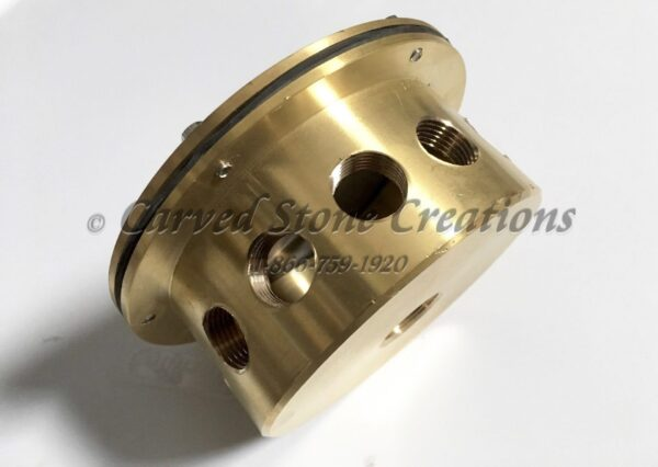 Brass Under Water Junction Box – 12 Outlet