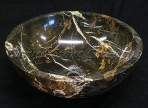 Michelangelo Marble Polished Unrimmed Vessel Sink