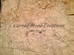 6×24 Tuscany Beige Travertine Rock-Face Wall Tile