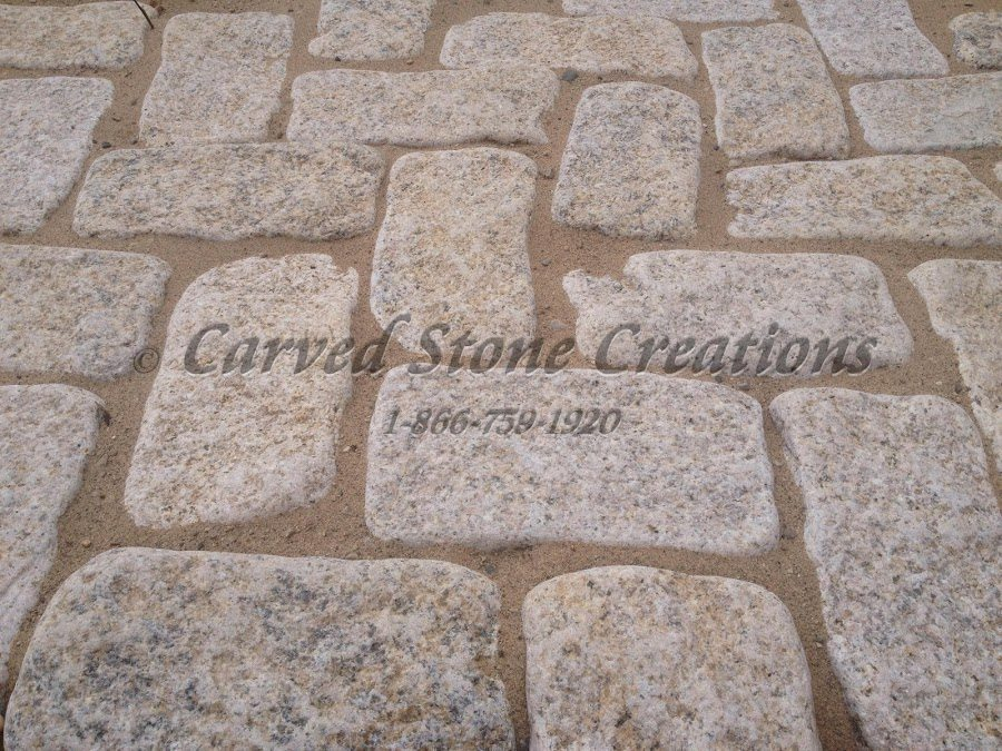 Granite Cobblestone Paver