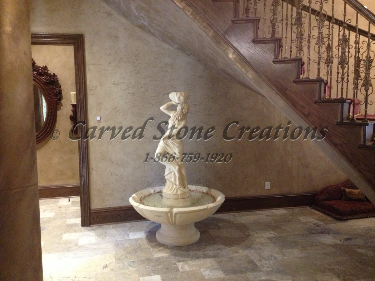Interior Stone Fountain