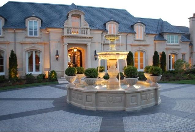 Large Estate Fountain
