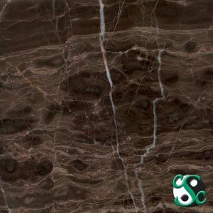 12×12 Maroon Imperial Marble Polished Tile
