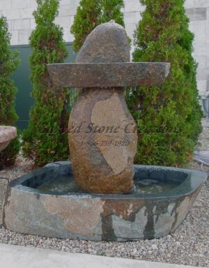 1-Tier Sombrero Boulder Fountain