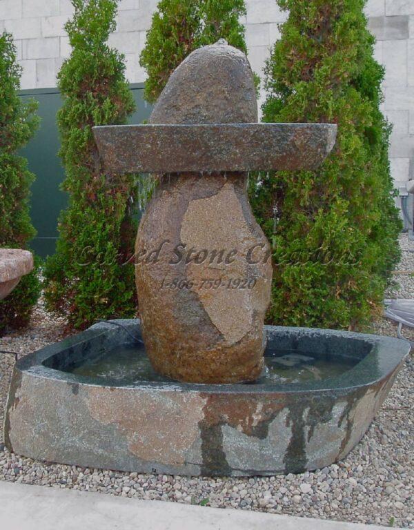 1-Tier Sombrero Boulder Fountain